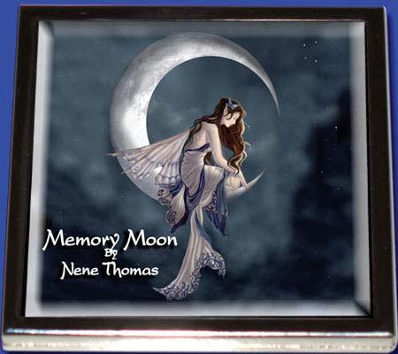 Memory Moon Fairy Compact Mirror