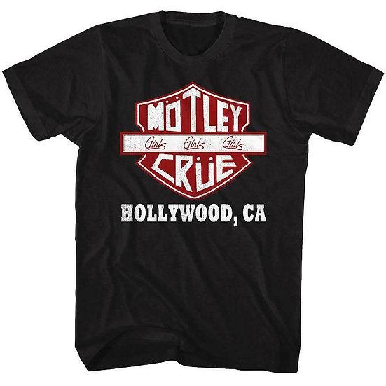 Motley Crue t-shirt / Hollywood, CA Girls Girls Girls
