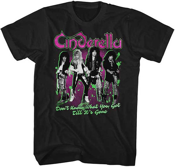 Cinderella T-Shirt / 80s Metal Rock Don't know what you've got Tee