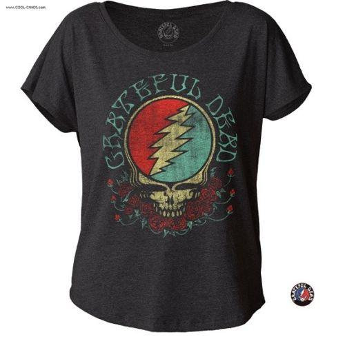Grateful Dead Tee / Retro New,Throwback,Grateful Dead Steal Your Face Rock Tee