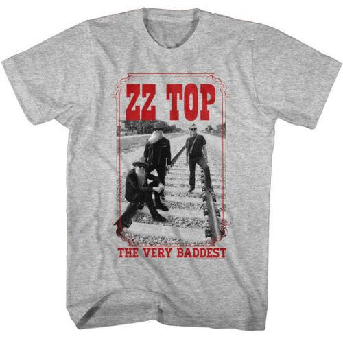 ZZ TOP T-SHIRT / THE VERY BADDEST ZZ TOP THROWBACK ROCK N BLUES TEE