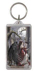 Raven Fairy Memento Fairy Keychain