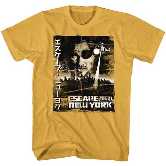 Escape From New York Japan T-Shirt / 80s Cast Movie Tee