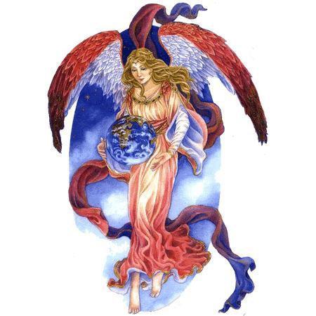 Peace on Earth Angel Sticker