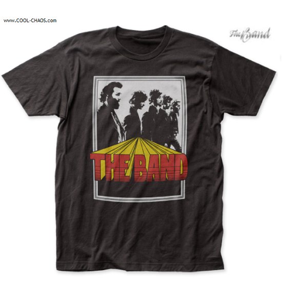 The Band T-Shirt / The Band Poster Retro Rock Tee