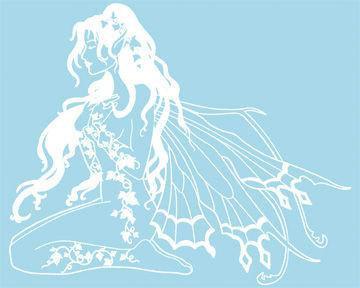 Ivy Fairy Sticker