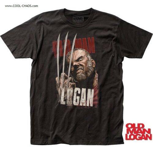 Old Man Logan T-Shirt / Wolverine Alternative Universe Comic Tee