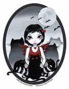 Strangelings Odd Cats and Bats Fairy Sticker
