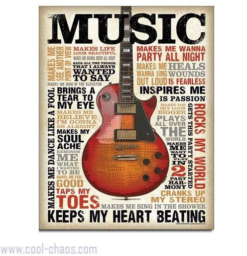 Inspiration is Music Sign