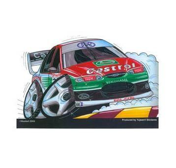 Castrol Falcon Racer Sticker
