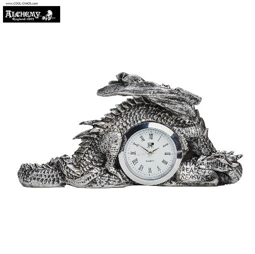 Time Greatest of Treasures Celtic Dragon Desk Clock