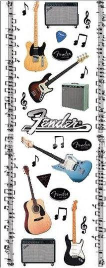 Fender Guitar Stickers Pack #2