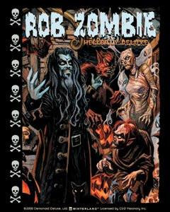 Rob Zombie Sticker #4 Ghouls Sticker