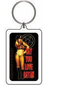 Say you love Satan Rob Zombie Keychain