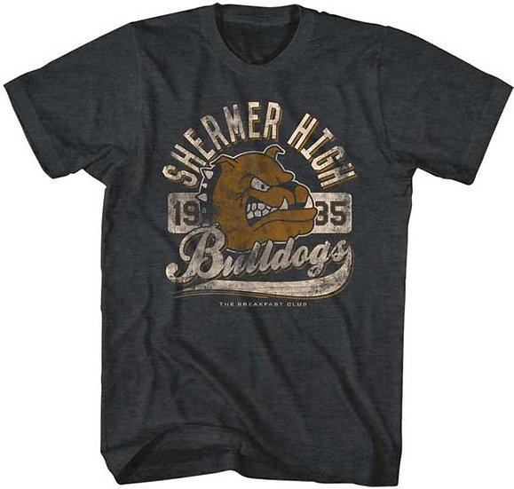 The Breakfast Club T-Shirt / 1985 Shermer High Bulldogs Movie Tee