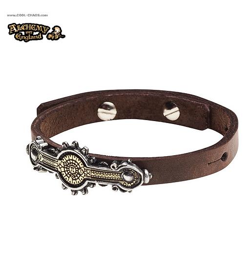 Steampunk Bracelet Wriststrap / Pi Steampunk Wriststrap by Alchemy Gothic Empire