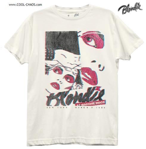 Blondie T-Shirt / Blondie Live MAGIQUE DISCO NYC Boyfriend-Style Tee