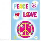 Peace love happiness sheet