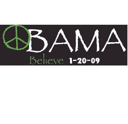 Commemorative President Obama Bumper Sticker