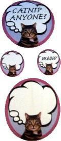 Adorable Tabby Cute Kitty Stickers (mini sheet)