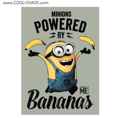 Minions: Powered By Bananas Minion Magnet