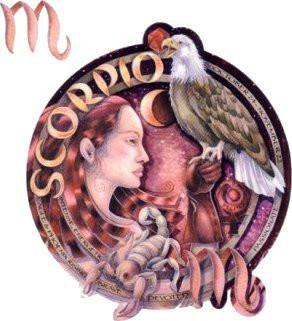 Jody Bergsma Romantic Scorpio Sticker
