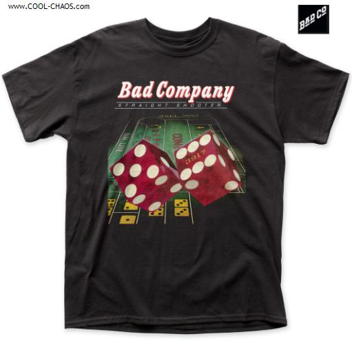 Bad Company T-Shirt / Bad Company Straight Shooter Album,Retro Rock Tee