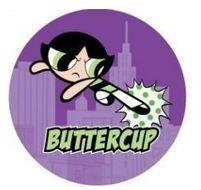Powerpuff Girls Button-Buttercup Powerpuff Girls