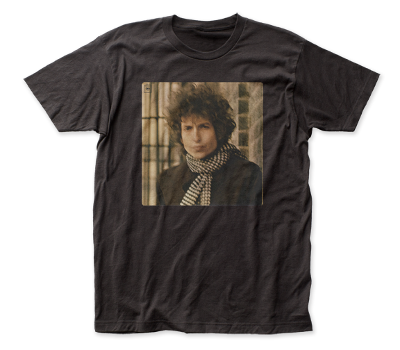 BOB DYLAN T-SHIRT / Bob Dylan Blonde On Blonde Record Album Cover Retro Rock Tee