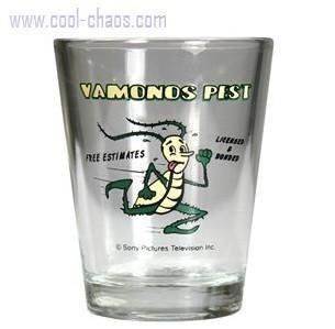 Vamonos Pest Breaking Bad Shot Glass