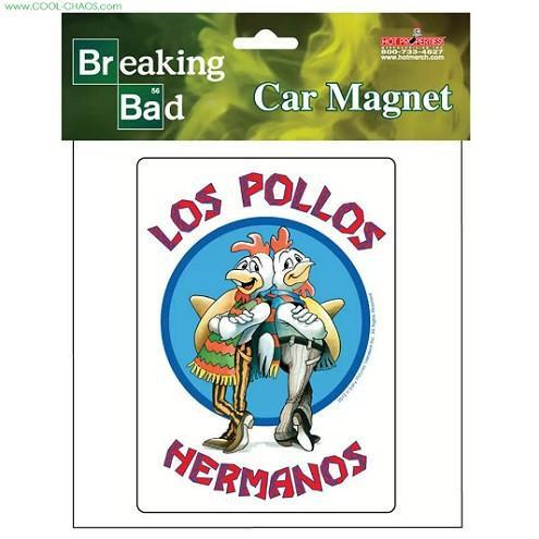 Breaking Bad Car Magnet / Los Pollos Hermanos Car Magnet