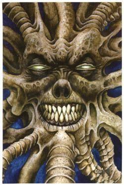 Twisted Magazine Horror Sticker / Postcard