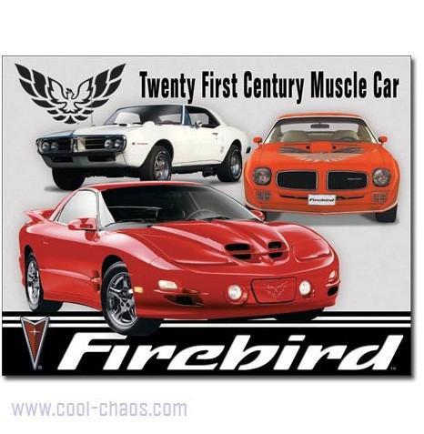 Pontiac Firebird Tin Sign