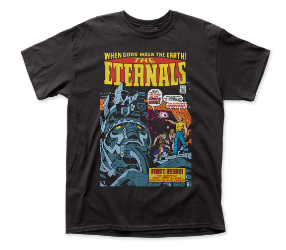 The Eternals T-Shirt / When Gods Walked the Earth! Eternals #1 Comic Book Tee