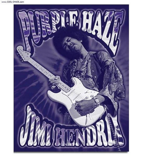 Purple Haze / Jimi Hendrix Tin Sign