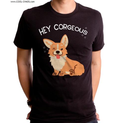 Gorgeous Corgi T-Shirt / Funny Dog Corgi Dog Tee