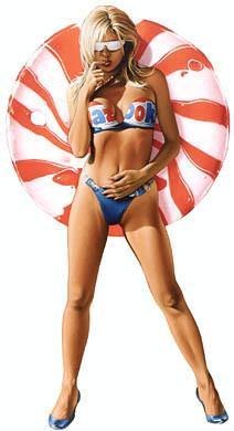 Candy Girl Pin-up Girl Hot Girl Sticker