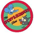 The Itchy & Scratchy Show Button