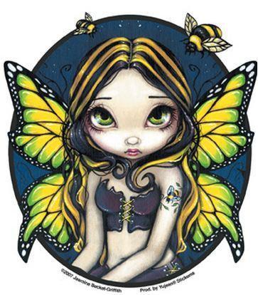 Bumblebee Fairy Sticker