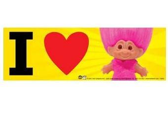 I Love Trolls Bumper Sticker