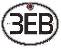 European Road 3EB Sticker