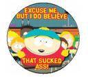 South Park Sucks A Cartman Button