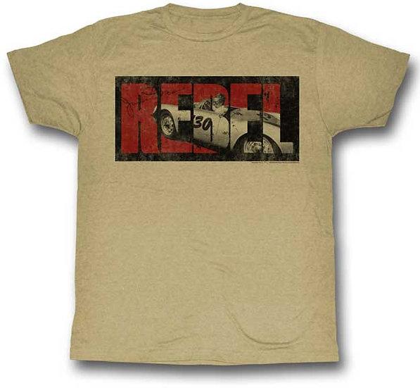 James Dean T-Shirt / James Dean 'Little Bastard ' Rebel Men's Tee