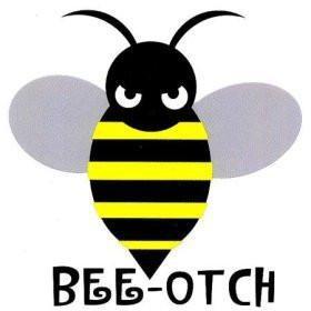 Transformers Bee-otch Sticker