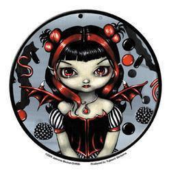 Licorice Gothic Rock Candy Fairy Sticker
