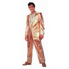 Gold Elvis Presley Magnet