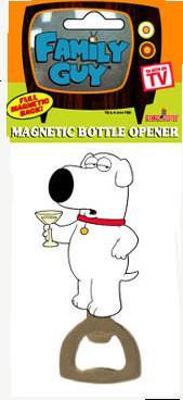 Family Guy Brian Martini Dog Bottle Opener