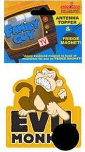 Evil Monkey Antenna Topper