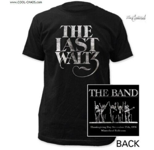 The Band T-Shirt / The Band The Last Waltz Tour Tee,With backprint