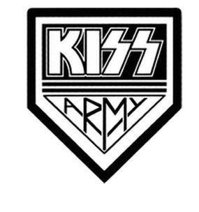 KISS Army Rub-on Sticker